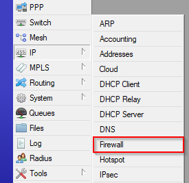 IP, Firewall