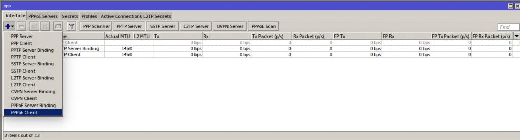 Configurando Conexão PPPoE no Mikrotik | WiFire